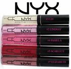 NYX Lipgloss Pump it up Lip Plumper CHOOSE SHADE Pink Clear Nude Red Liv