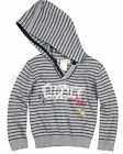Deux par Deux Boys' Striped Sweater Mr. Fix It, size 18M