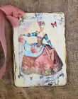 Hang Tags  FRENCH MARIE ANTOINETTE TAGS or MAGNET #392  Gift Tags