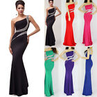 NEW New Ladies Backless Vintage Slimming Long Prom Wedding Gowns Evening Dresses