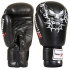 TurnerMAX Genuine Leather Boxing Gloves Kick Boxing MMA Martial Arts Punch bag