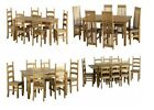 NEW GRADE A DINING ROOM FURNITURE | TABLE & CHAIRS | TABLES | DINING SETS