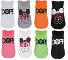 LADIES ITS GOING DOWN YOLO MICKEY DOPE PUG NEON UV VEST TOP T-SHIRT SIZE 6 /14