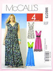 McCall's 6073 Sewing Pattern Misses'/Women's Dress in 3 Lengths inc. Plus Sizes
