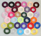 5m Luxury Double Sided Satin Ribbon, 3mm 6mm, 10mm, 15mm Wedding & Card Crafts