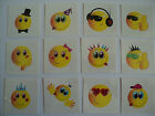 SMILEY TEMPORARY TATTOOS - CHILDRENS PARTY LOOT BAG FILLERS - PINATA
