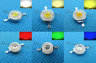 5-100pcs 3W Multicolor Without board High Power bright light LED 3Watt