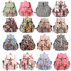 Ladies Canvas Retro Vintage Large Backpack Women Rucksack Shoulder School Bag