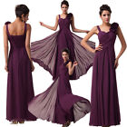 Pageant Long Prom Gown Dress Wedding Bridesmaid Cocktail Evening Party Dresses