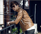 2014 Spring New Men's Motorcycle Jacket Slim Young Men Fashion Short JacketJ509