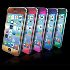 Tempered Glass Screen Protector Film Guard Metallic colors for iPhone 5 5S 5C