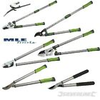 Garden Hedge Pruning Lopping Anvil Bypass Telescopic Shears Tree Bush Lopper