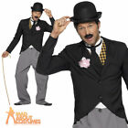 Charlie Chaplin Costume 1920s Silent Movie Star Mens Fancy Dress Outfit