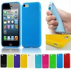 New TPU Gel cover case for iPhone 5 5s 5G Jelly rubber silicone soft skin protec