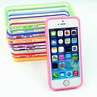 TPU Silicone Bumper for New iPhone 5 5S 5G Rim Frame Fit all buttons Ultra Slim