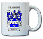 WRIGGLESWORTH COAT OF ARMS COFFEE MUG