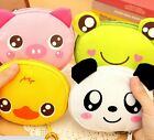 4215 Cartoon Portable Foldable Shopping Bags Waterproof Pouch Wallet with Hook