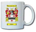 BRIGHAM COAT OF ARMS COFFEE MUG