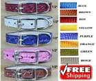 Leather Collars made in USA - Puppy and Cat Collars - Unique Puppy Collars - XS