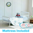 Wooden Junior Toddler Bed Kids Children Bed with Foam Mattress