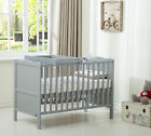 "MCC Wooden Baby CotBed ""Orlando"" with Top Changer & Water repellent Mattress"