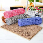 Non Slip Soft Shaggy Bedroom Rugs Bath Doormat Carpet Floor Bath Mat Chenille