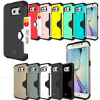 NEW ShockProof Defender Slim Card Case cover for iPhone/Galaxy/LG G Series lot