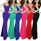 Sensuous Ladies Sexy Backless Sleeveless Formal Party Evening Bridal Prom Dress