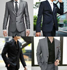 4XL 5XL Brand Mens Formal Suits School Proms Work Weddings Evening Party Gift