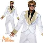 Adult 70s Rocket Man Disco Costume Rock Star Elton John Fancy Dress