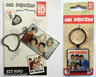 1D ONE DIRECTION ENAMEL KEYRING Harry, Liam, Louis, Niall and Zayn - Music