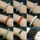 Natural Mixed Gemstone 6mm Round Beads Handmade Stretchy Bracelet Healing Reiki