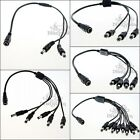 1-10X 5.5x2.1mm CCTV Secuirty Camera DC Power Splitter Cable Connect Wire 40cm