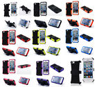 HEAVY DUTY TOUGH SHOCKPROOF WITH STAND HARD CASE COVER FOR iPhone5 5S 5C TZJ
