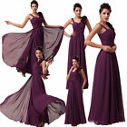 Formal Ball Gown Prom Purple Unique Style Homecoming Cocktail Long Evening Dress