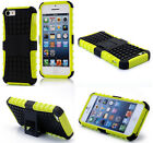Yellow HEAVY DUTY TOUGH SHOCKPROOF WITH STAND HARD CASE COVER FOR iPhone5C TZJ