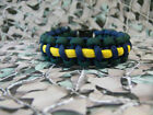 Queens Royal Irish Hussars 550 Paracord Survival Bracelet / Dog Collar