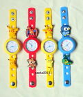 POKEMON JIBBITZ BAND WATCH & 2 CHARMS, BOX AVAILABLE IF REQUIRED