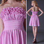 Promotion~Girls Sexy Bridesmaid Evening Ball Prom Cocktail Dress Wedding Gown