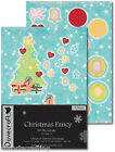 Dovecraft Christmas A4 3D Glitter Decoupage Die Cut Acid Free Choice of Designs