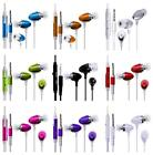 iear EARPHONES HEADSET HEADPHONE HANDS FREE EARPIECE MiC fOr Nokia Lumia 530
