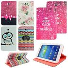 """Samsung Galaxy Tab 3 7.0"""" P3200 SM-T210 Floral PU Leather Case Stand Cover"""