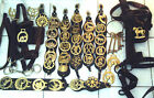SELECTION OF HORSE BRASSES & VINTAGE HORSE'S TACK  chose from drop-down menu