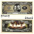 Over The Hill Fifty 50 B-day Years Novelty Bill Notes 1 5 25 50 100 500 or 1000