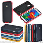 Hybrid Bumper Frame Rubber TPU+PC Back Case Cover For Samsung Galaxy S5 i9600
