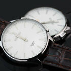 New Fashion Mens Leatheroid Band Quartz Movement Wrist Watch With 4 Colors