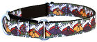 Country Brook Design™ Thanksgiving Pilgrim Turkey Ribbon Martingale Dog Collar