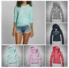 New Abercrombie & Fitch A&F Women Jana Hoodie Sweat Shirt Pull Over Vingtag Size