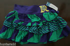 NWT Ralph Lauren Girls Multi Stripe Crested Rugby Skirt 7 8/10 12/14 16 NEW $45