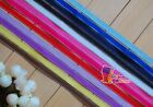 "1""(U pick)Silver Edge SolidGrosgrain Ribbon 4 Bow 5/20/50Yds Craft Xmas 12colors"